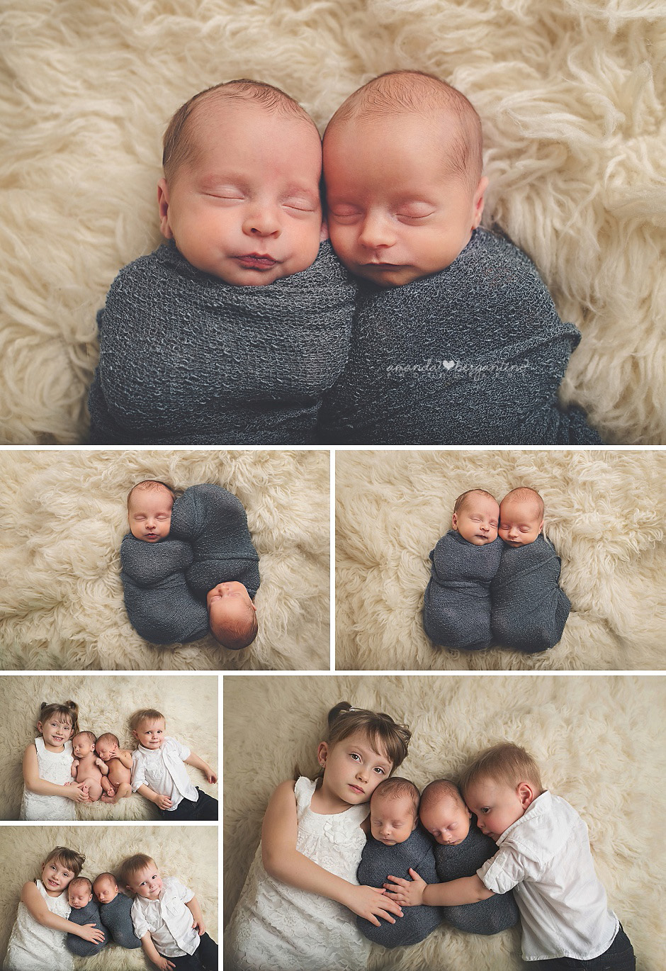 Richland, WA Twin Newborn Photographer
