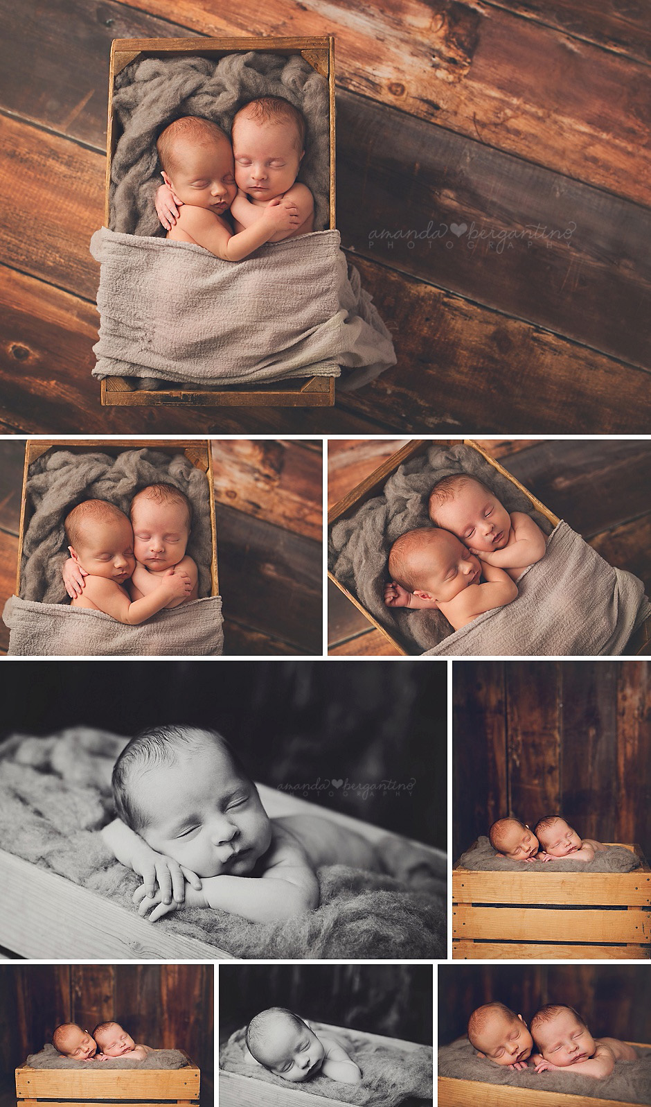 Tri-Cities, WA Twin Newborn Photographer
