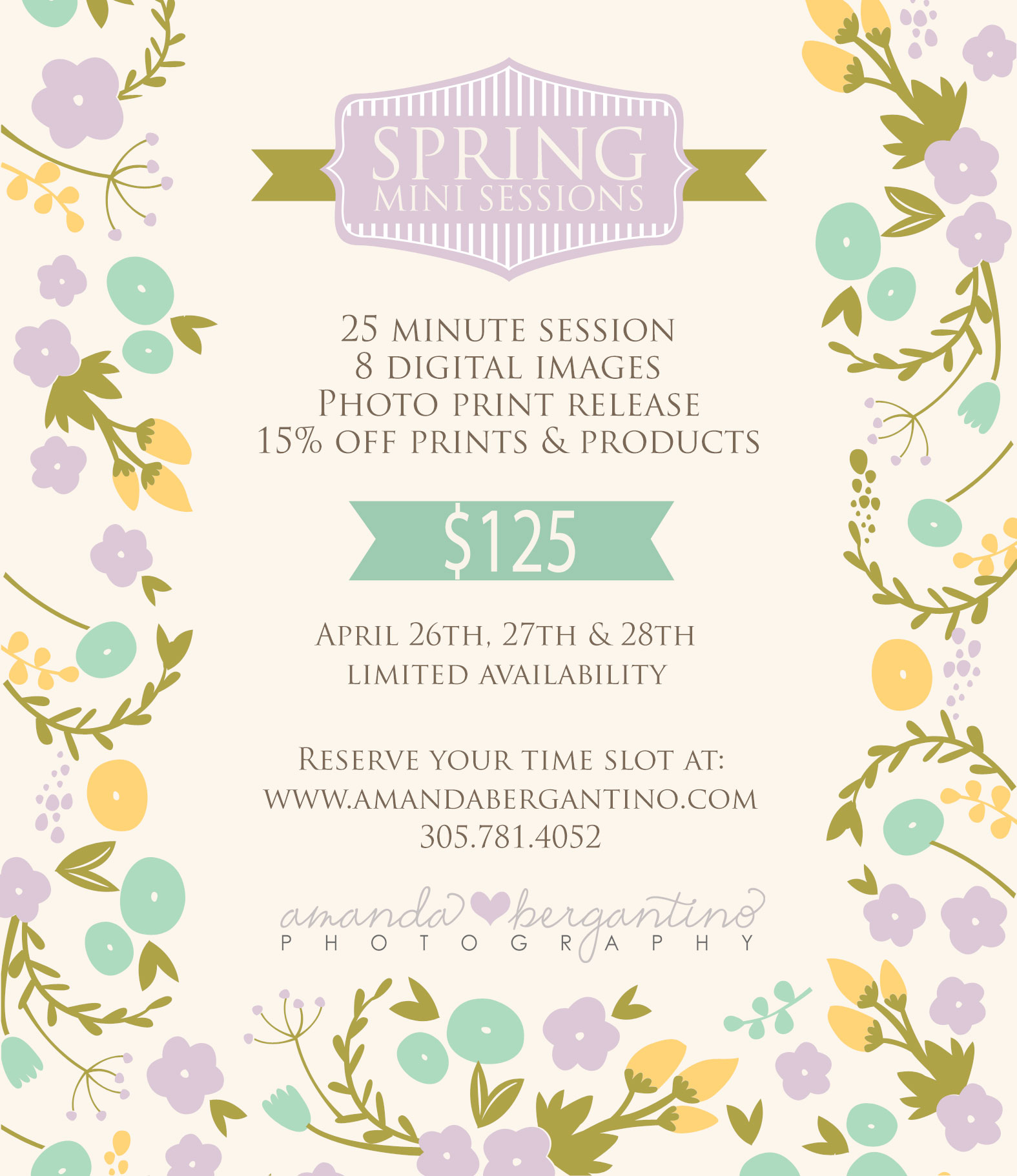 Spring Mini Session TriCities Washington Kennewick Richland Paso Photographer
